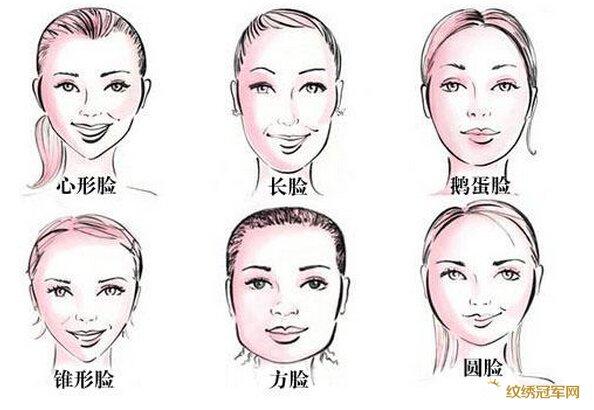 绣名家谈眉形与脸型的搭配及图片图片