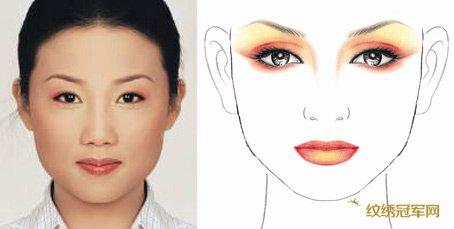 眉毛的设计方法和步骤